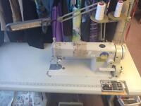 Sunstar km250a straight Stich industrial table sewing machine