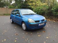 Renault Clio exspresion 1.5 Diesal 1 years mot 1 owner from new full service history