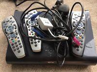 Sky Plus 2TB box and 2 Remotes