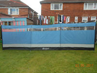 outwell windscreen wind break excellent clean condition