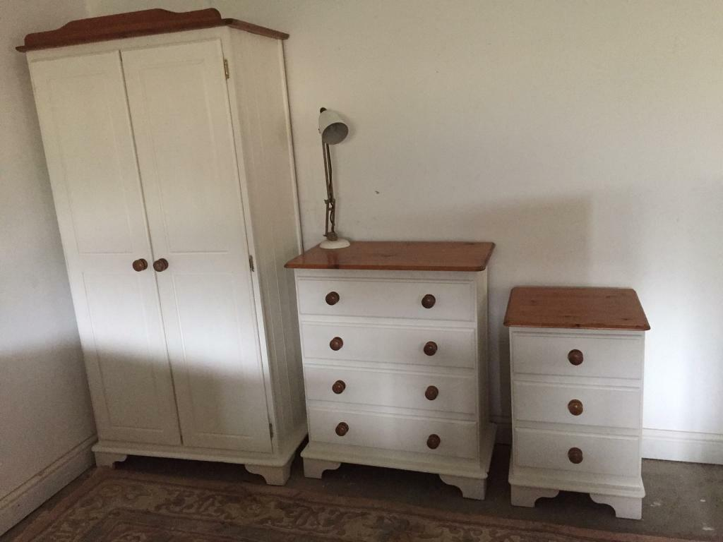 Fabulous Bedroom Furniture Wardrobe Chest Of Drawers Pine Bedside Table Solid Unit Storage Laura Ashley In Cromer Norfolk Gumtree Download Free Architecture Designs Scobabritishbridgeorg