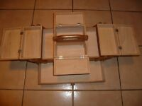 Sewing machine accessories storage extendable Box