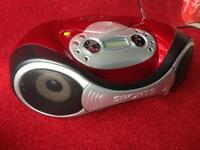 Wharfedale portable CD player with AM/FM radio
