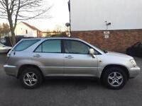 LEXUS RX300 AUTOMATIC CREAM LEATHER SEATS HPI CLEAR