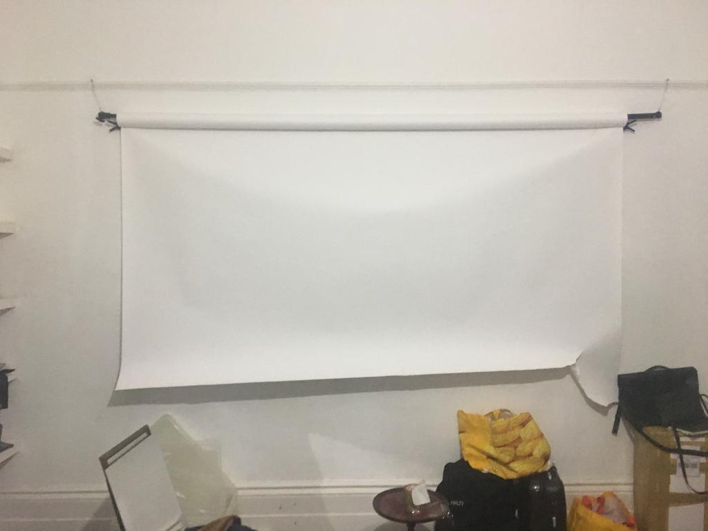 Artic white photographic studio background