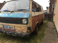 Vw t25 transporter camper aircooled project ratlook