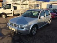 2002 52 VOLKSWAGEN GOLF TDI SUPERB CAR IN GOOD CONDITION FOR THE YEAR CHEAP DIESEL ECONOMY LONG MOT!