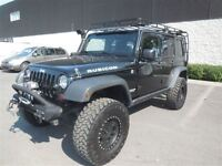 2012 Jeep WRANGLER UNLIMITED RUBICON 4X4 A/C MAGS CUIR NAVI
