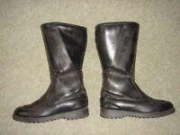 Frank Thomas Aqua Sport motorcycle / motorbike boots, size 5