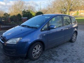 FORD FOCUS C-MAX, 06 REG, 106K MILES, DIESEL, DRIVES MINT, MOT