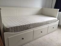 Ikea Hemnes day bed with mattress