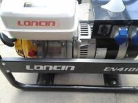 Brand new Generator loncin EN4100