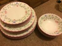 Beautiful serving tableware