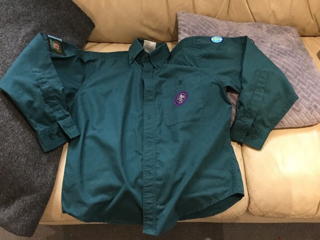 Scout shirt xxs good condition, from pet / smoke free home.