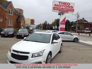 2015 Chevrolet Cruze 1LT   1.4L TURBO   SUNROOF   CAMERA   TOUCH