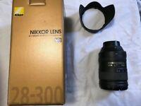 Nikon 28-300 f3.5-5.6 G ED-VR