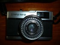 Vintage Olympus Trip 35mm camera Very Good Condition