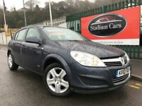 2010 (10 reg) Vauxhall Astra 1.4 i 16v Club 5dr Hatchback Petrol Low Mileage