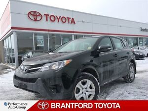 2013 Toyota RAV4 LE, FWD, ONLY 22,079 KM'S!!, Off Lease, Safety