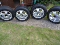 17x Genuine Mercedes Alloy Wheels and 235/55/17 Tyres 5x112 Will Fit VITO/VIANO