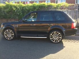 Rangerover sport supercharged Good condition,22 inch wheels,black heated leather.