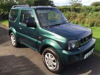 2002 Suzuki Jimny 1.3 JLX AUTOMATIC , FSSH, 2 owners 4x4