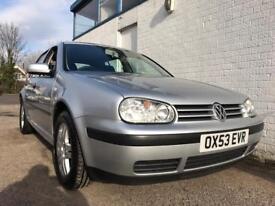 2004 VW GOLF, 1.6 PETROL, MANUAL, 4 DOOR, SILVER, LOVELY EXAMPLE...