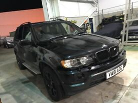 BMW X5 4.4i Sport LPG converted
