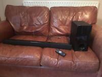 Sound bar /sub woofer/ remote for TV