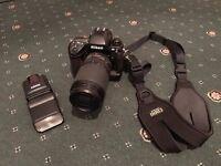 Nikon F5 35mm Film SLR + Nikkor AF-S 70-300mm F4.5-5.6G VR ED + Extras