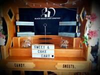 Cake cart /sweet cart hire