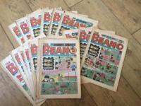 16 original Beano Comics