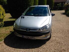 2004 Peugeot 206 only 66,000 miles