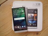 HTC One M7 32GB Silver Smartphone Mobile Phone Unlocked Boxed