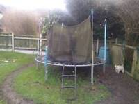 Used garden trampoline