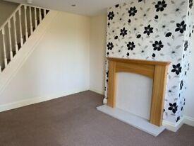 ULLESKELF, Nr.Tadcaster, LS24 9DT. Between Leeds & York. 2 bed unfurnished house, £550pcm