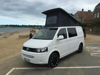 2012 VW T5 WITH FULL CONVERSION SKYLINE HIGH TOP POP TOP BI FOLD BED & SWIVEL SEAT