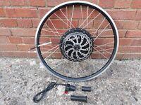 48v Electric bike wheel. B/new