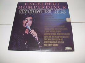Engelbert Humperdinck – His Greatest Hits Decca – SKL 5198