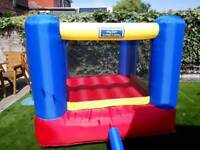 My first bouncy castle