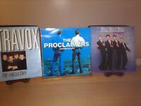 Vinyl Albums The Proclaimers, Ultravox and Wet Wet Wet.