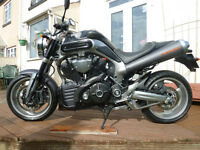 Yamaha MT-01 1700 V-Twin.2010 Late MK2 One of the Last - Absolute Mint Unique & RARE.Condition-