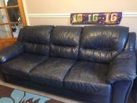 FREE leather sofa.