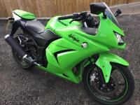 Kawasaki Ninja 250cc Only 4,500 miles , In Showroom Condition
