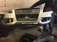 Audi A5 blackeddition front and back bumper