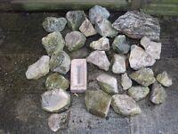ROCKERY ROCKS, WEATHERED GARDEN ROCKERY