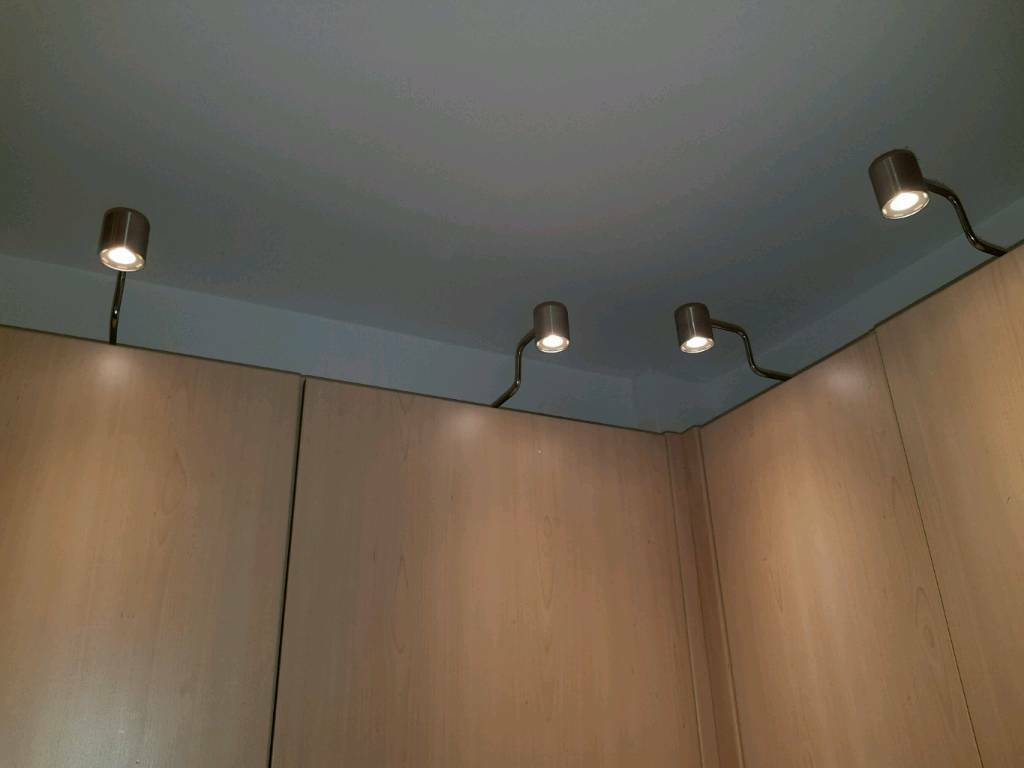 Ikea Urshult Led Cabinet Lighting Nickel Plated 4x Lights Transformer And Plugin Cable In Wigan Manchester Gumtree