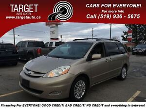 2008 Toyota Sienna XLE, Loaded; Leather, Alloys and More !!!!