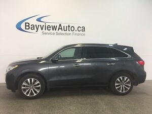 2015 Acura MDX SH- AWD! SUNROOF! LEATHER! NAV! BSA! PWR TRUNK!