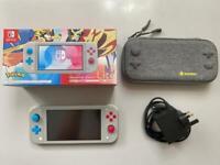 Nintendo Switch Lite RARE Pokemon edition - Zacian & Zamazenta plus case